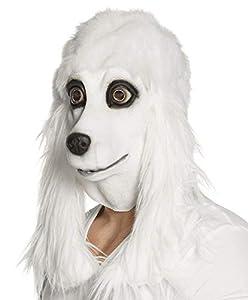 Boland 00166 - Máscara para la Cabeza, diseño de caniche con pelos