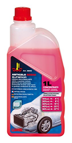 Lampa 38099 Antifreeze Concentrate (-37 °) Bottle, Pink, 1000 ML