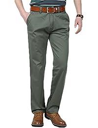 Baymate Hombre Pantalones Largos Deportivos Casuales Senderismo Trabajo Pantalones