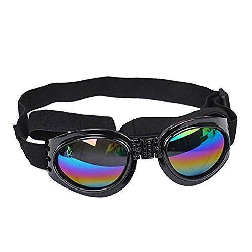 Romote Gafas de Sol para Perros Gafas de protección Prueba de Agua Versión actualizada