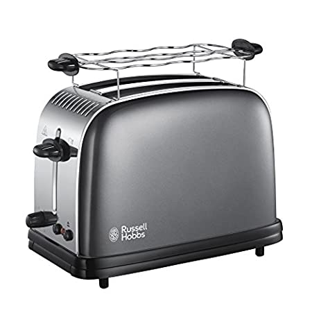 Russell Hobbs 23332-56 Colours Plus+ Storm Grey Toaster,