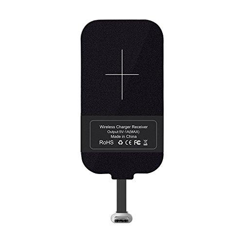 Nillkin Typ C Wireless Ladegerät Empfänger, Wirelss Charging Receiver, Magic Tag USB C Qi Receiver Chip [Lange Version] für Google Pixel XL/LG V20 / HTC 10 / OnePlus 3 und andere Big Size USB C