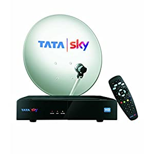 TATASKY HD Set Top Box with 1 Month Dhamaal Mix HD Free