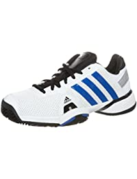 Zapato Adidas Junior Blanca Azul