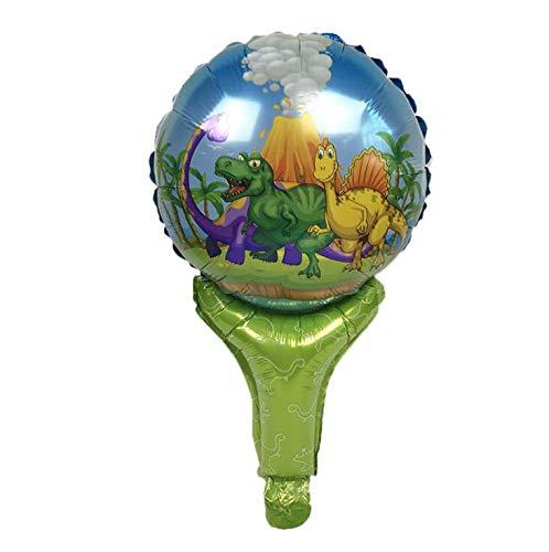 (Partei Liefert 10 Stück 7 Zoll Dinosaurier Thema Party Dekoration Einweggeschirr Pappteller Geschirr Weißen Karton Mit Lebensmittel Film, Ballons 10 Stücke)
