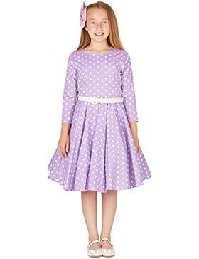 BlackButterfly Kinder 'Chloe' Vintage Herzen Kleid im 50er-Jahre-Stil