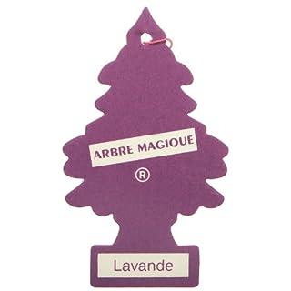 Arbre_Magique PER90507 Auto-Lufterfrischer, Lavendel-Duft Lila