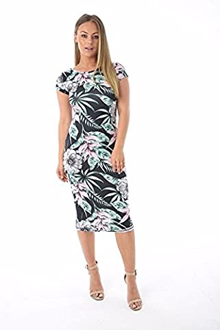 Comfiestyle - Robe - Manches Courtes - Femme - vert - 44