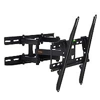 VonHaus 23-56 Inch TV Wall Bracket - Tilt and Swivel Mount for VESA Compatible Screens, 45kg Weight Capacity