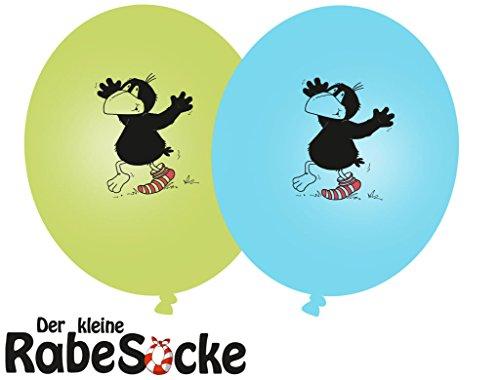 Preisvergleich Produktbild 8 Luftballons * DER KLEINE RABE SOCKE * für Kinderparty und Kindergeburtstag von DH-Konzept // Deko Ballons Party Set