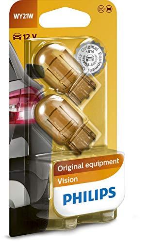 Philips 12071B2 Glassockellampe WY21W, 2-er Blister