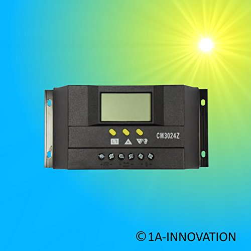 Intelligenter Solar Laderegler 30A LCD Display Solaranlage Solarmodul 100w 200w 300w 12V 24V