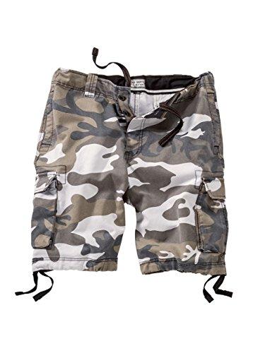 Surplus Herren Shorts Vintage Shorts Washed, Größe: XL, Farbe: urban Vintage Washed Chino