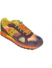 Saucony - Zapatillas de ante para mujer Naranja naranja