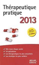 Thérapeutique pratique 2013