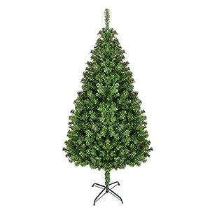 Homfa Árbol de Navidad Artificial