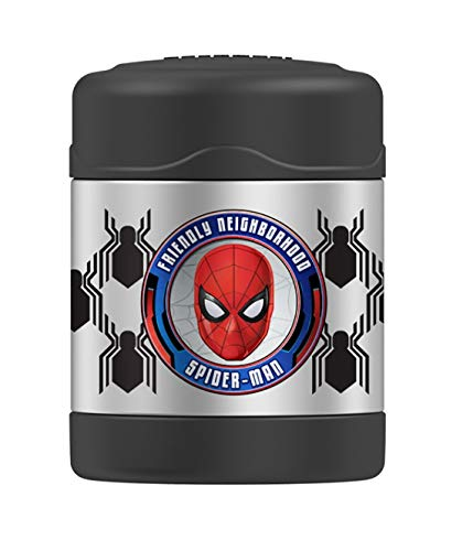 Thermos FUNtainer Food Jar, 10 Ounce Spider Man Funtainer 10 Oz Food Jar
