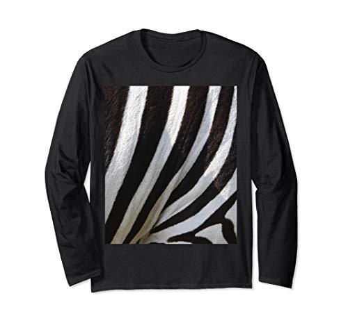 Einfache Halloween Kostüm Idee Zebra Paare Langarmshirt (Einfache Zebra Kostüm)