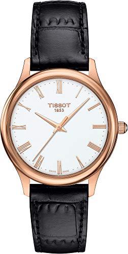 Tissot Excellence 18 KT Gold T926.210.76.013.00 Reloj de Pulsera para Mujeres