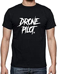 latostadora - Camiseta Dgdrone Drone Pilot para Hombre 601c5c7799d0d
