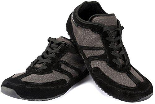 Magical Shoes - Explorer Autumn Barfußschuhe   Damen   Herren   Jugendliche   Laufschuhe   Zero Drop   Flexibel   Rutschfest, Größe:39 / 250mm, Farbe:MS Explorer Autumn Baribal - Schwarz