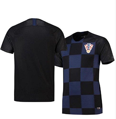 Shi18sport 2018 Fußball Jersey Kroatien Weg Erwachsenen Junior Jersey Anzug Trainingsmannschaft Tragen Fans Souvenirs, M