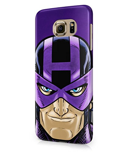 Hawkeye The Avengers Assemble Superhero Plastic Snap-On Case Cover Shell For Samsung Galaxy S6