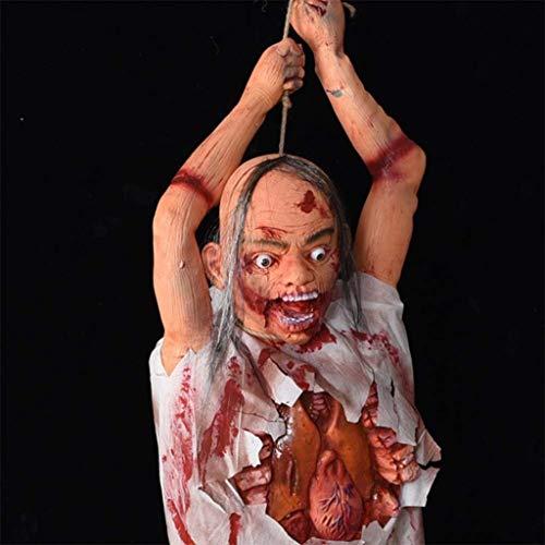 CS-LJ Halloween Halloween Bloody Props, Bar KTV Spukhaus Flucht Horror Zombie Hang Mortal Simulation Hanging Ghost Halloween Dekorative Anhänger - Flucht Baby Kostüm