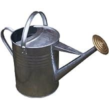 Apollo Gardening - Regadera tradicional de metal galvanizado (9 litros)