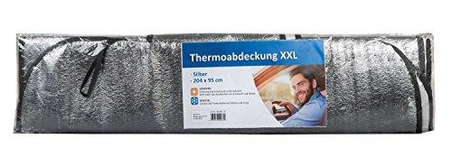III 10040033 - Auto Windschutzscheibe Thermoabdeckung für Sommer und Winter, XXL, 204 x 95 cm