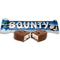 Bounty Chocolate Bar Imported Chocolates, 57g - Free Shipping (Pack of 12)