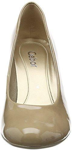 Gabor Lavender - Scarpe con Tacco donna Beige (Beige Patent HT)