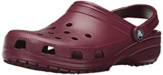 Crocs Classic, Sabot Unisex Adulto, Rosso (Garnet), 37/38 EU (B01MQY6ZHL) | Amazon price tracker / tracking, Amazon price history charts, Amazon price watches, Amazon price drop alerts