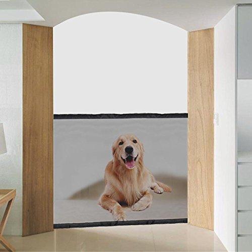 Beimaiji Trade Pet Sicherheit Tor, tragbar Pet Isolierte Zaun Faltbare Hundebox Barriere, Sicherheit Zaun Schutz Sicherheit Home Indoor Outdoor installieren überall -