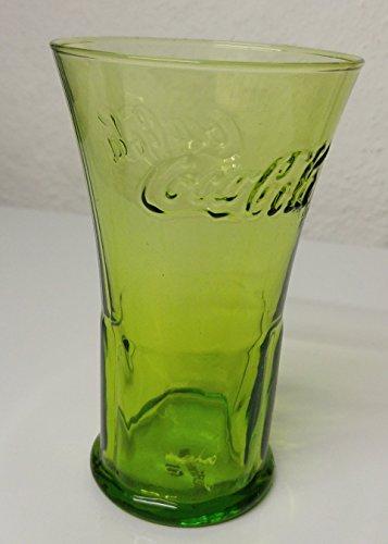 1 Coca Cola Glas, Grün, Rastal Glas, Mc Donalds 2008, 3. Coca Cola Glas Serie bei McD., Ausstellungsstücke aus Ladengeschäft -