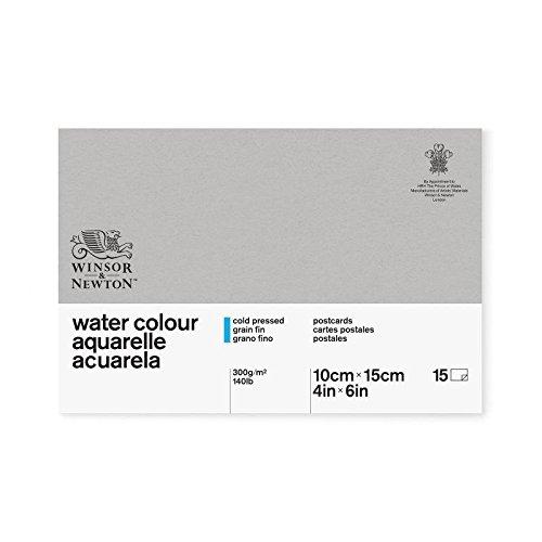 Winsor&Newton - Blocco Cartoline Incollate 10 X 15 Cm - 15 Fogli 300G