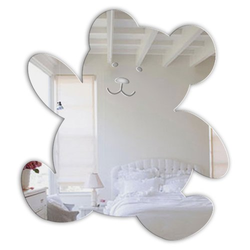 Mungai Mirrors Teddy-Bär Acryl-Spiegel (15cm) -
