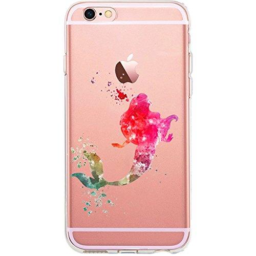 Blitz® AQUARELLE motifs housse de protection transparent TPE caricature bande iPhone Peter Pan Aquarelle M6 iPhone X Fin Aquarelle M12