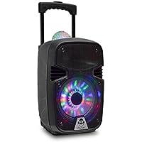 iDance Groove 215 100W Negro - Altavoces portátiles (20,3 cm, 100 W, Inalámbrico y alámbrico, Negro, Rectángulo, Acrilonitrilo butadieno estireno (ABS))