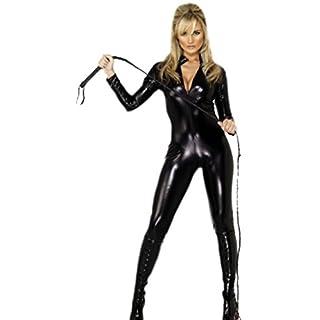 erdbeerloft - Damen Jumpsuit, Catsuit, Kostüm, Karneval, Fasching, XS, Schwarz