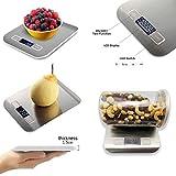 JJOnlineStore - Digitale Küche Lebensmittel Skala Gewicht für Gemüse, Obst, Backen,...