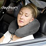 daydream PREMIUM-Reise-Nackenkissen mit Memory Foam, verschiedene Farben (N-5402),Nackenhörnchen, Reisekissen, Nackenstützkissen