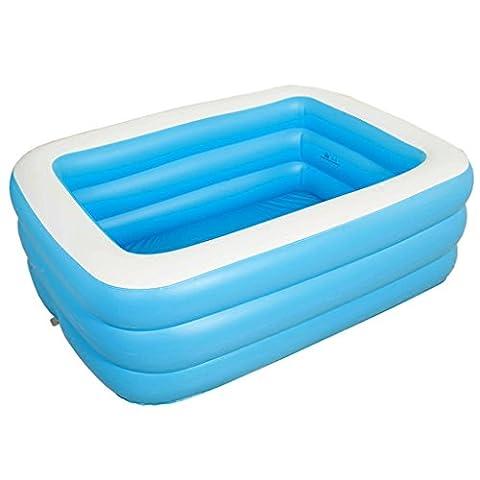 Baignoire gonflable pour enfant portable portable Baignoire gonflable surdimensionnée baignoire pour adulte pour adulte baignoire pour enfant piscine (1.9M) QLM-Inflatable Bathtub and Inflatable plunge bath ( Size : 1.5m )