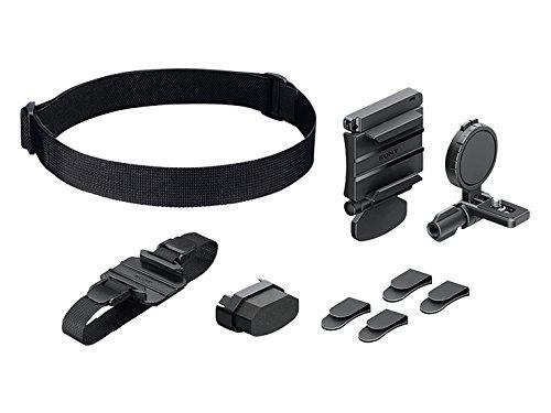 Galleria fotografica Sony Supporto Fascia Universale Waterproof per Action Cam, Comprende: Una Fascia Corpo, Una Fascia Testa, Uno Supporto Stabilizzatore e 4 Agganci