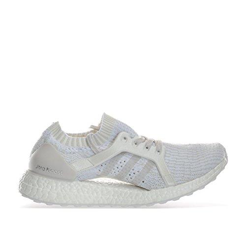 Adidas Ultraboost X, Chaussures de Course Femme, Blanc Cassé (Ftwbla/griper/Balcri), 40 EU