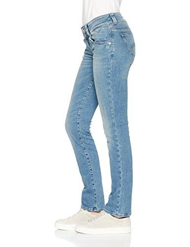 Tommy_Jeans Low Rise Viola Acrlbst, Jeans Straight Donna Blu (Alaska Cross Light Blue Stretch 911)