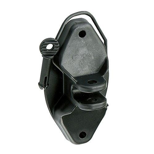Corral Pin-Lock Isolatoren, 25er-Pack (25 Stück) (Schwarz)