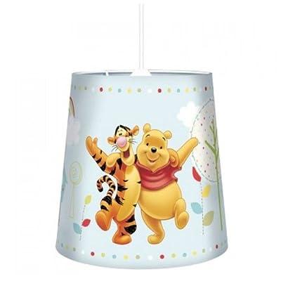 Kinder Hngelampe Lampenschirm Inkl Fassung Kinderlampe Disney Winni Pooh