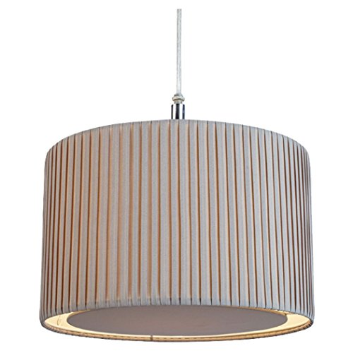The Lighting & Interiors-Group Moderno Pantalla para lámpara de techo, color: gris