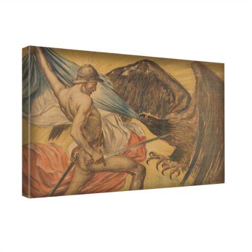 vintage-credit-lyonnais-2-kunstdrucke-leinwandbild-bild-malerei-wandbilder-canvas-grosse-12-x-18-30-